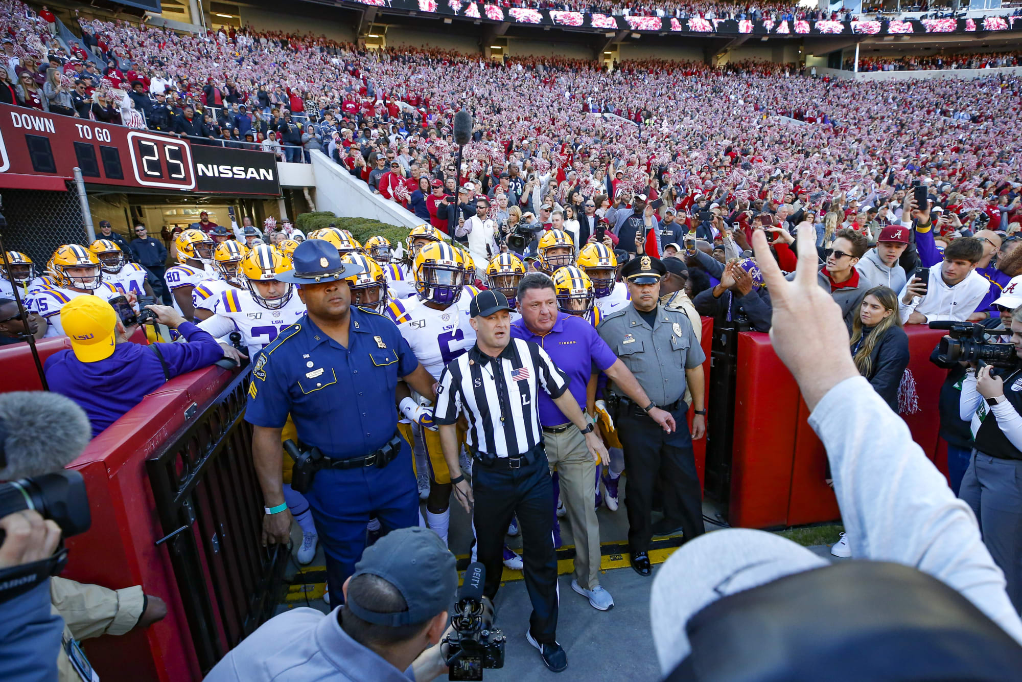 LSU Football: Familiar face will be across the field from Tigers on Saturday
