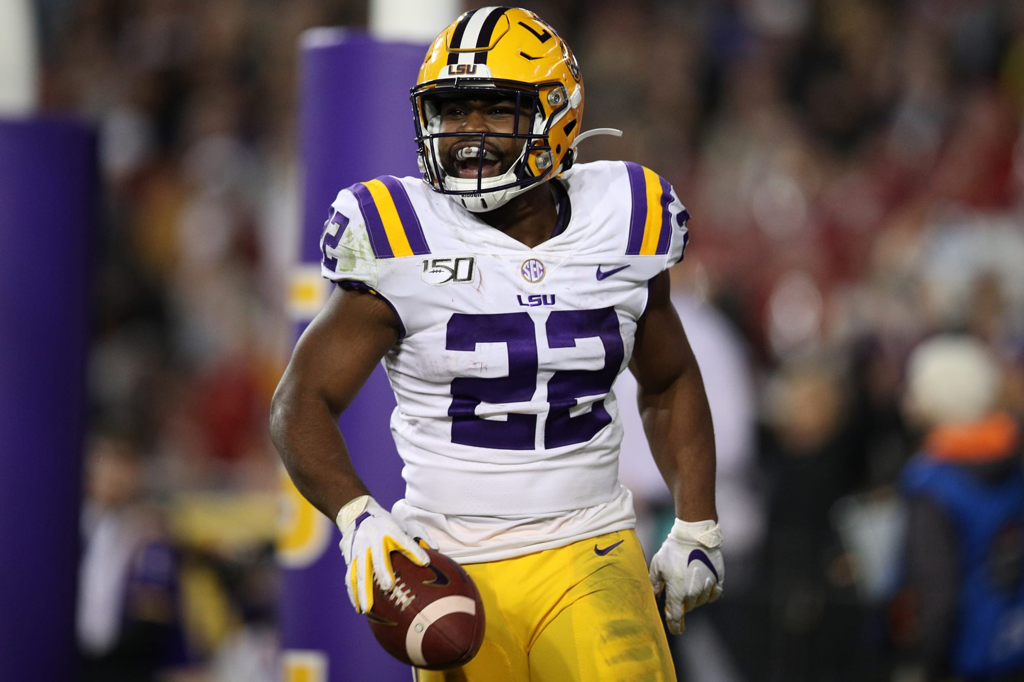LSU Football: The best run of Clyde Edwards-Helaire's career almost didn't happen