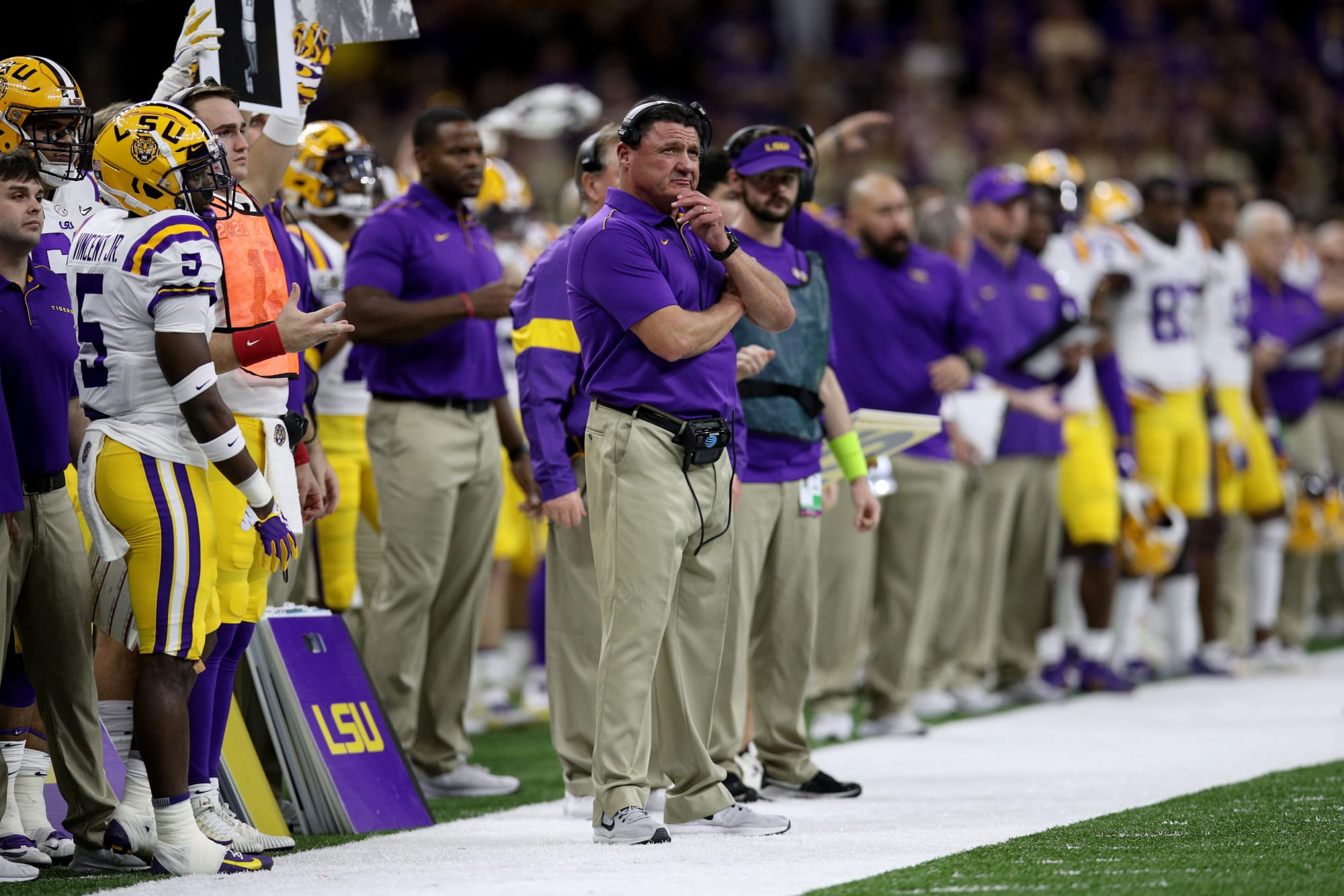 LSU Football: Another DC option from NFL emerges
