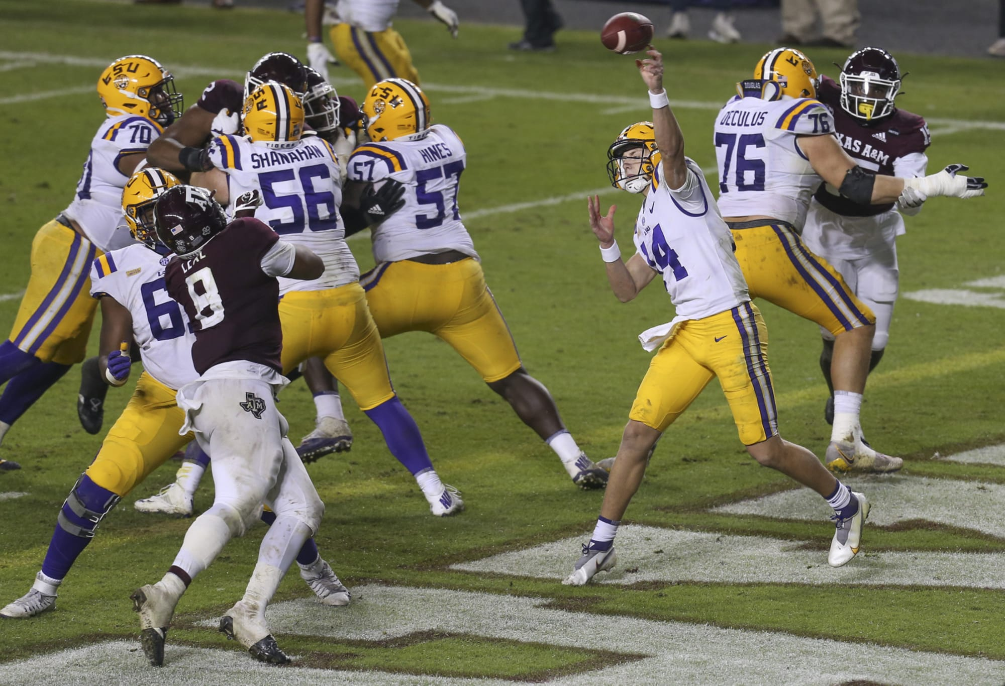 LSU Football: Max Johnson isn't changing his approach after Myles Brennan's injury