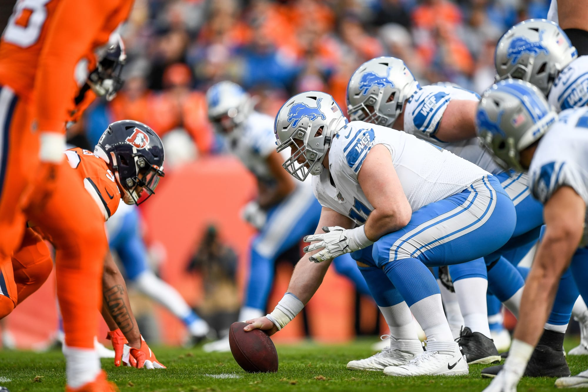 Detroit Lions OL considered the best run blocking unit in the NFL