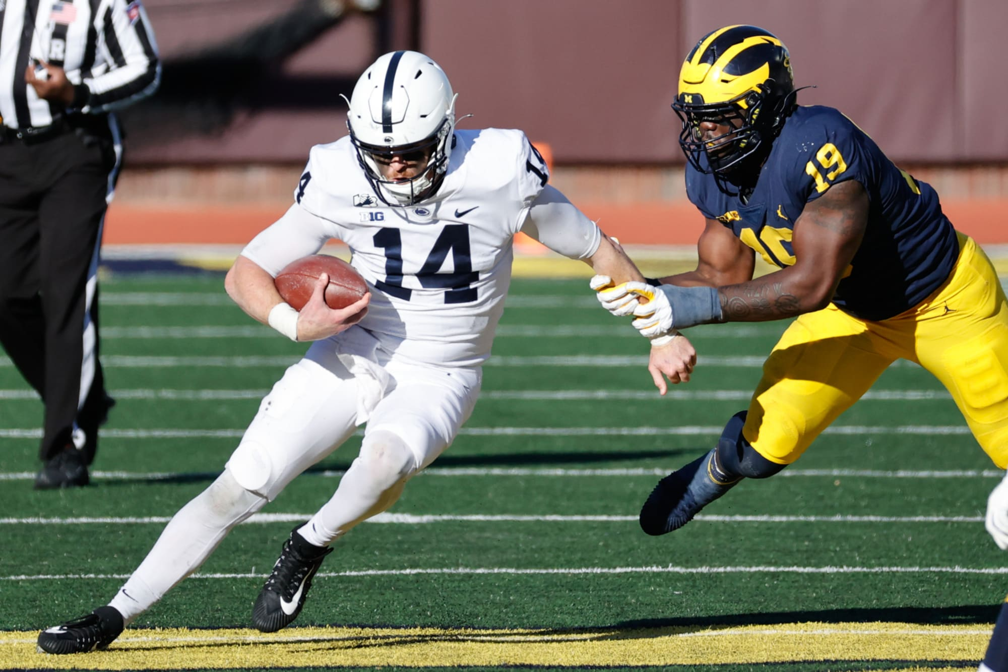 Michigan Football: Brief upswing ended abruptly by winless Penn State