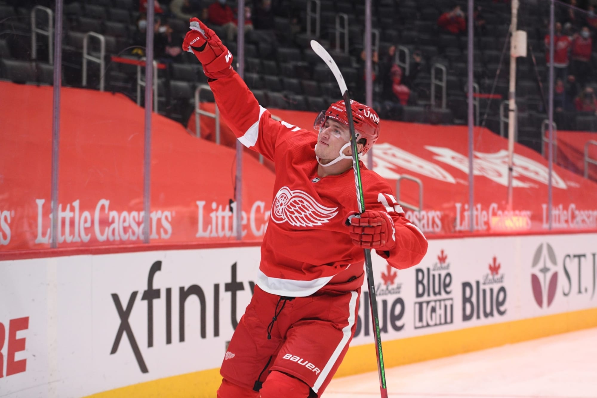 Detroit Red Wings: Forward Jakub Vrana is going to excel in new home