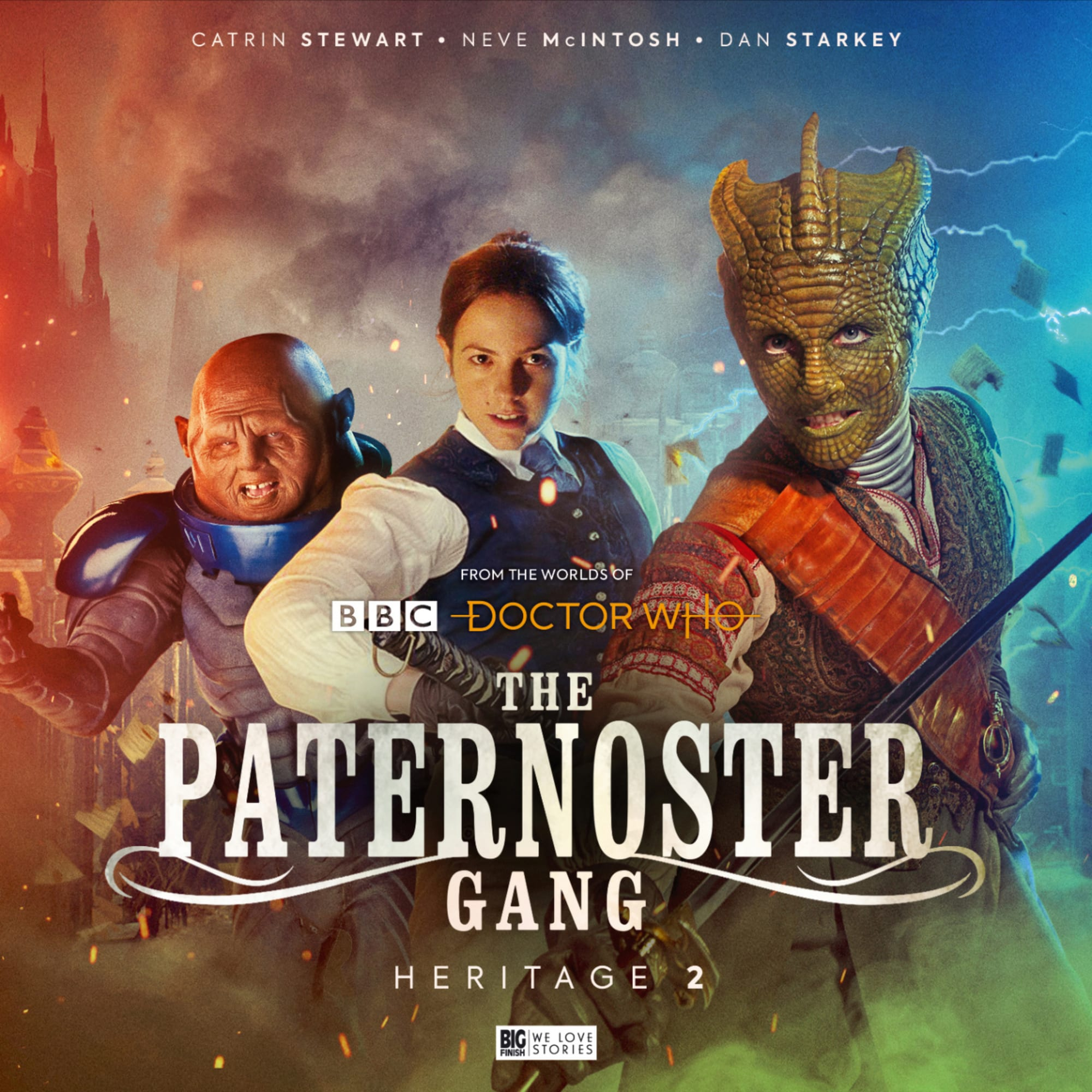 Doctor Who spin-off review: The Paternoster Gang: Dining with Death