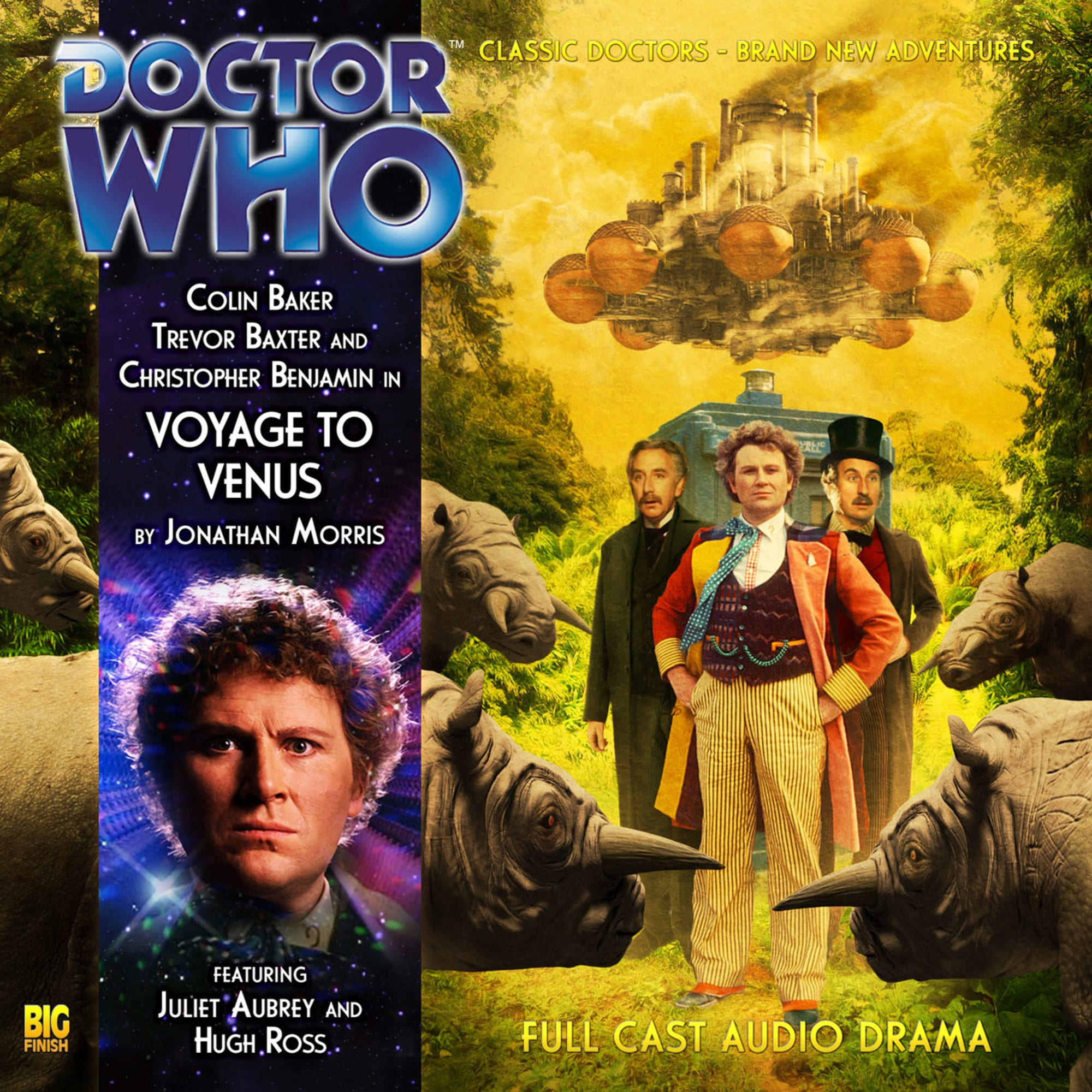 Doctor Who review: Jago & Litefoot join the Sixth Doctor in Voyage to Venus
