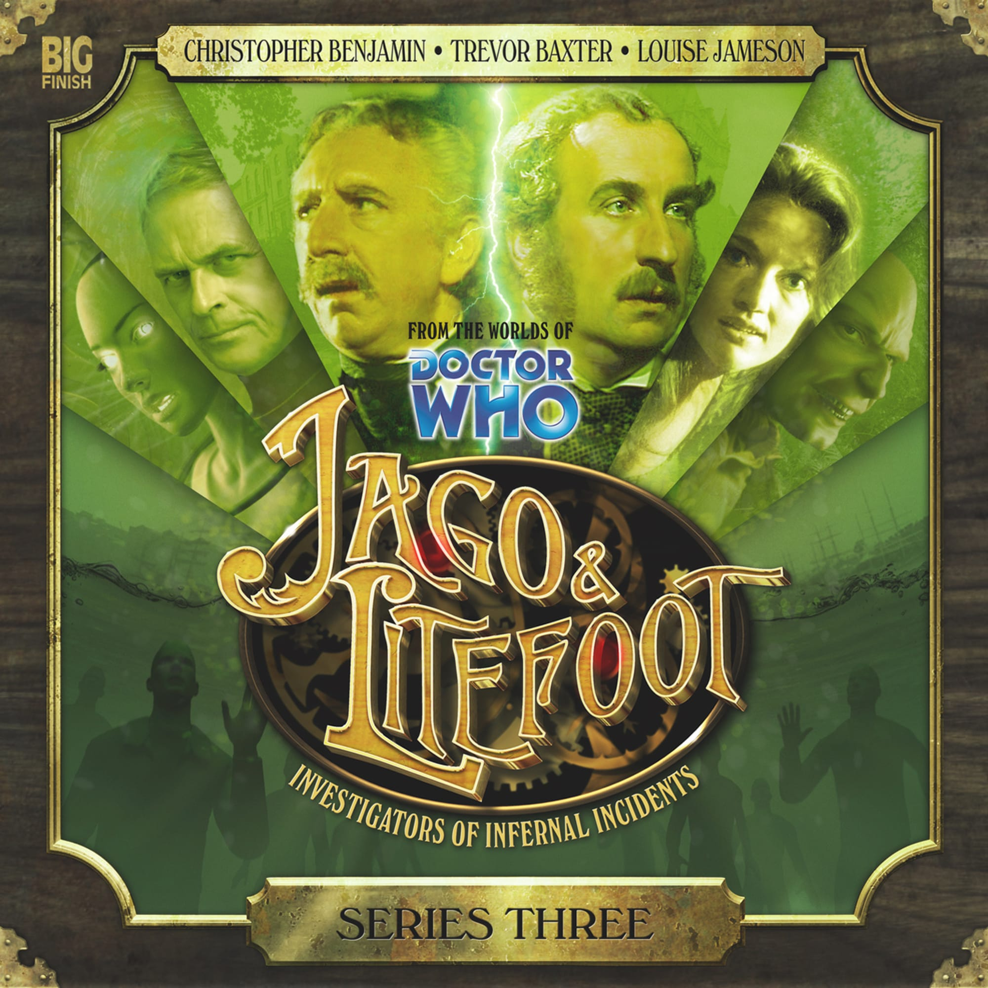 Doctor Who review: Jago & Litefoot have to save the world Chronoclasm
