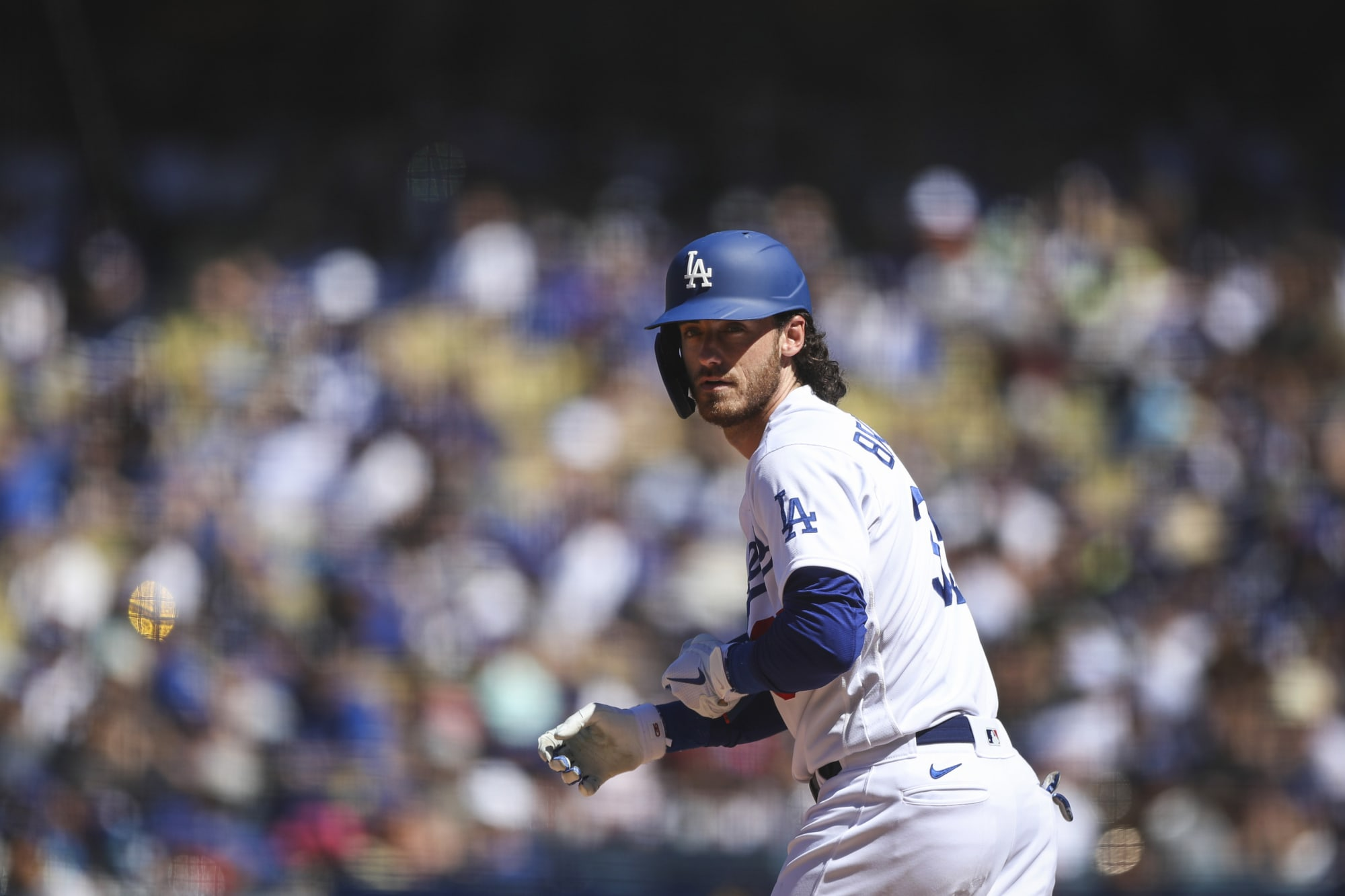 Dodgers: Should Cody Bellinger be benched if healthy in postseason?