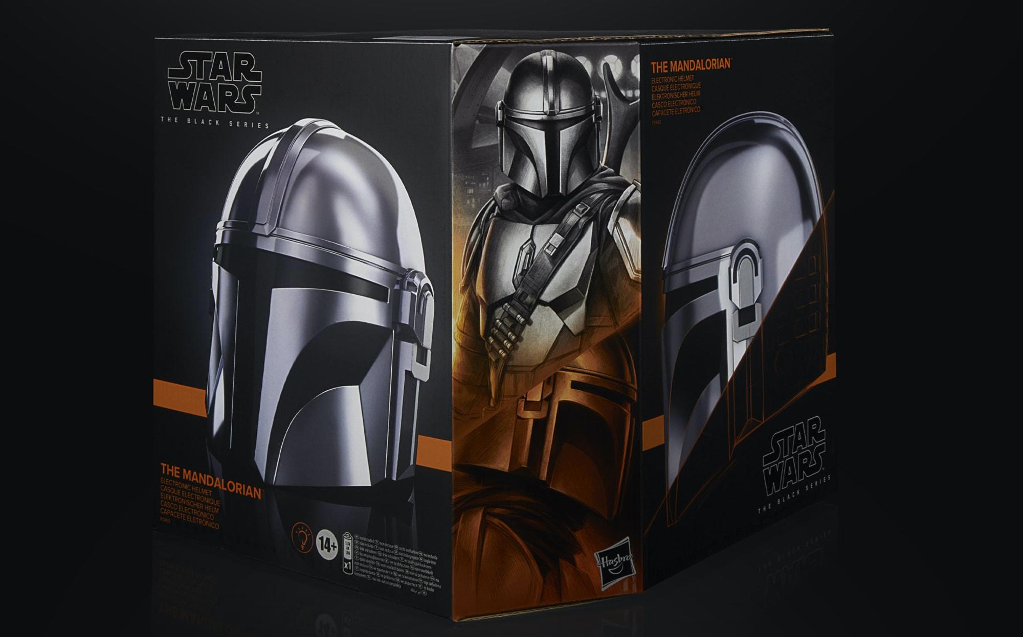 Hasbro Is Releasing An Amazingly Realistic Mandalorian Helmet