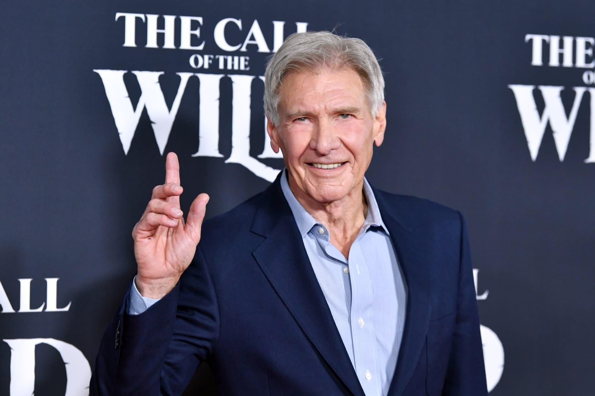 Harrison Ford looks stunning on the set of Indiana Jones 5