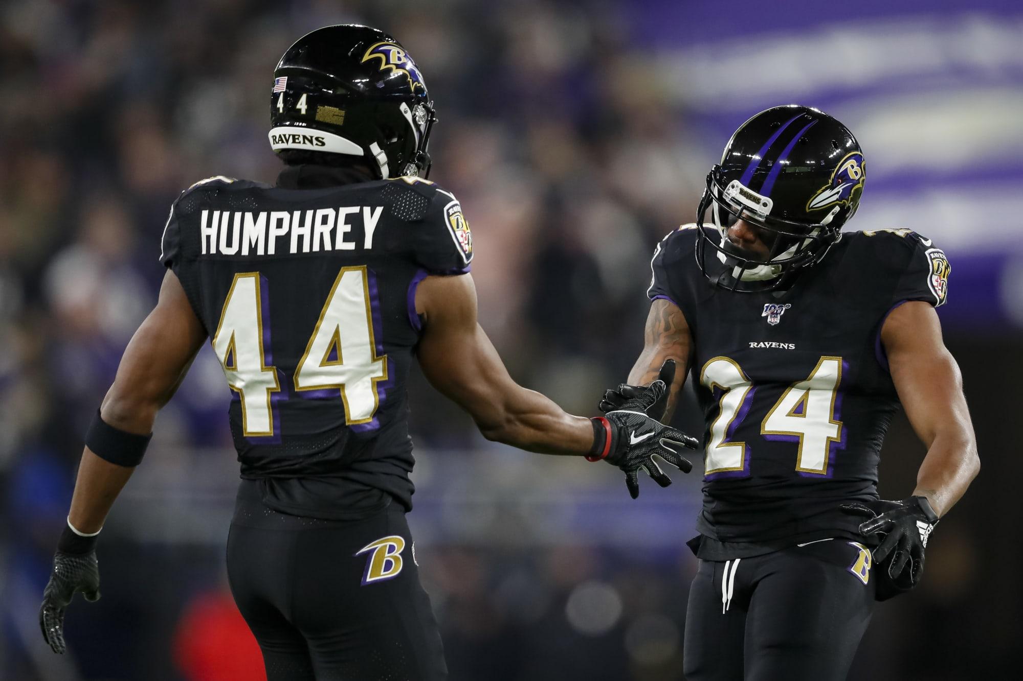 Ravens best cornerback: Marlon Humphrey or Marcus Peters?