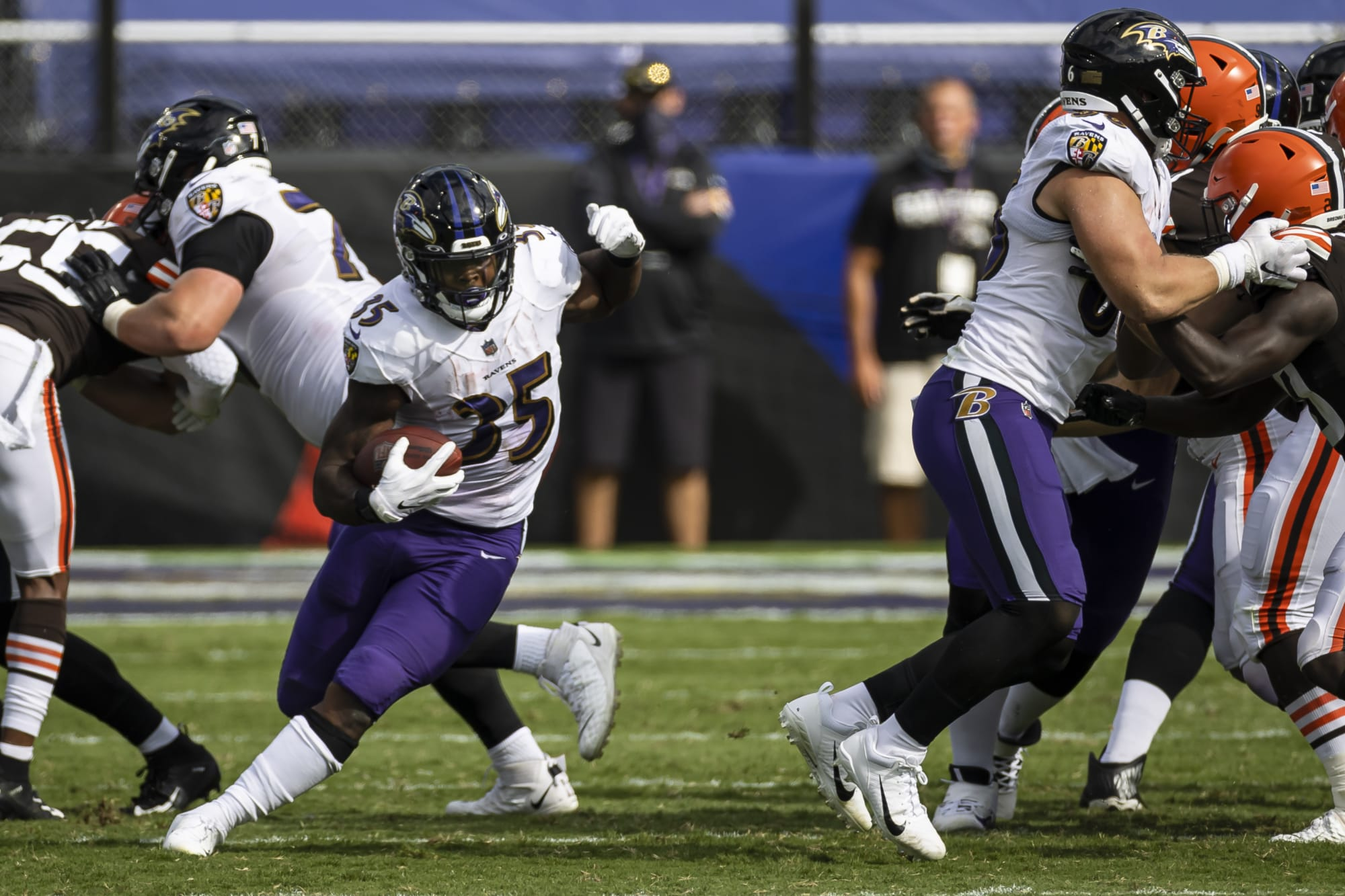#LetGusCook: Baltimore Ravens need to give Gus Edwards more carries - The Ebony Bird