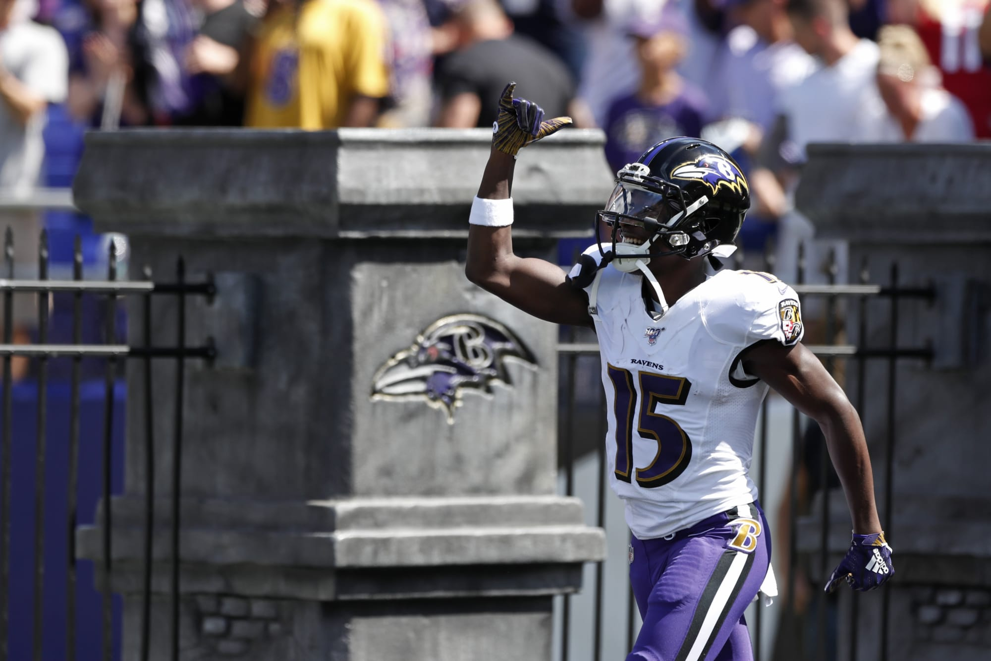 Baltimore Ravens diverse wide receiver core a hidden strength