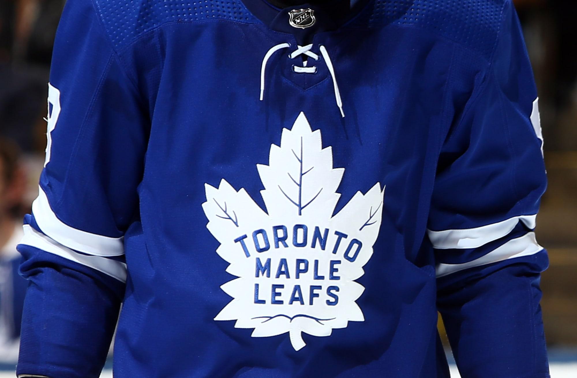 maple leafs jersey change