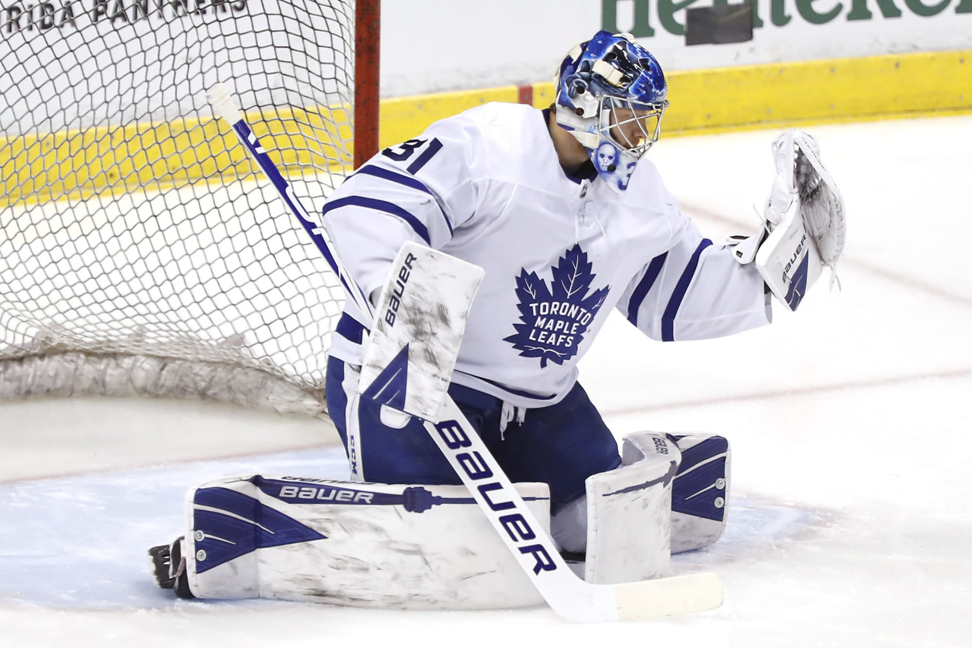 Goaltending The Big Question In Upcoming Toronto Maple Leafs Series