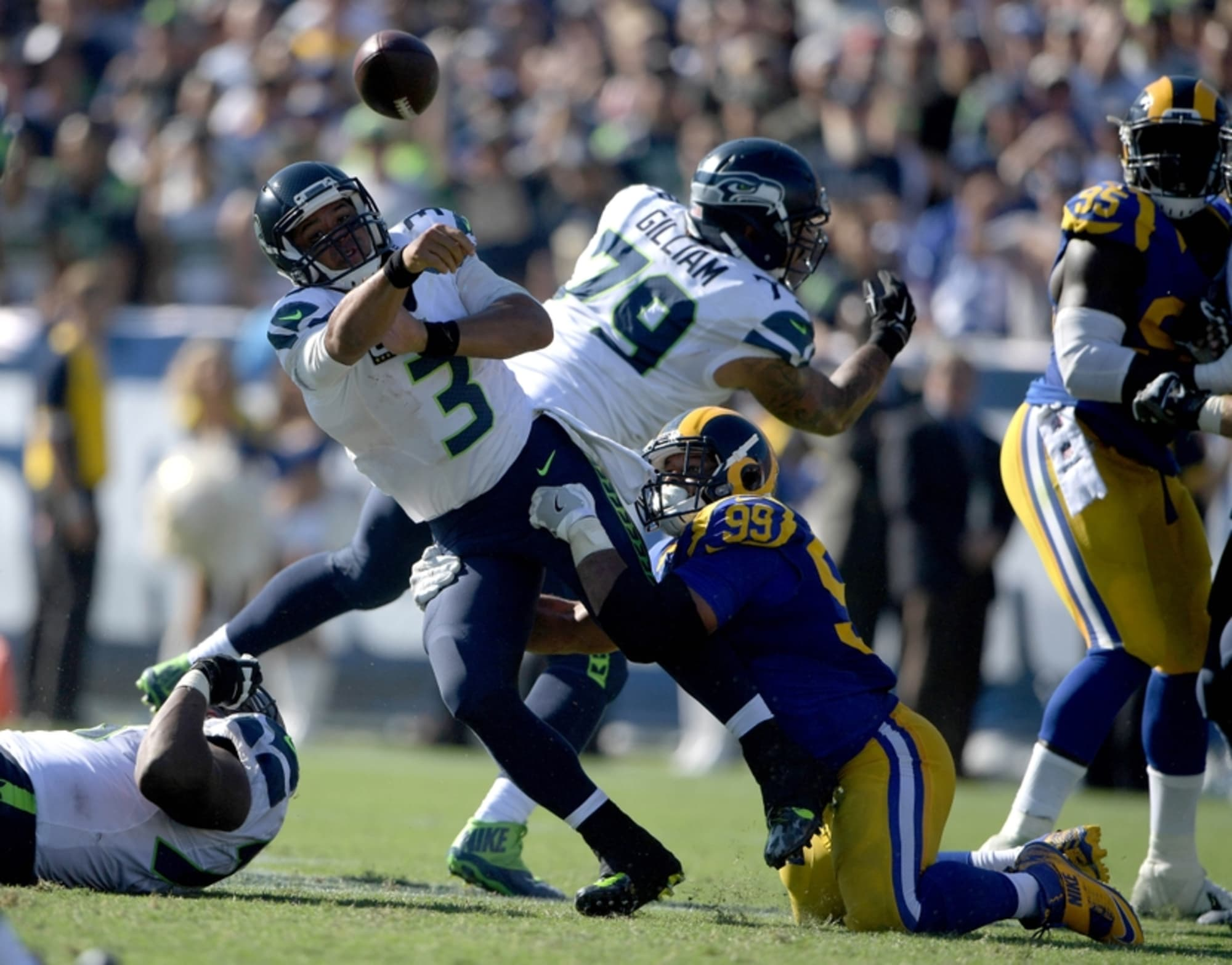 The Rams Are Designed To Beat The Seahawks Through Their O Line