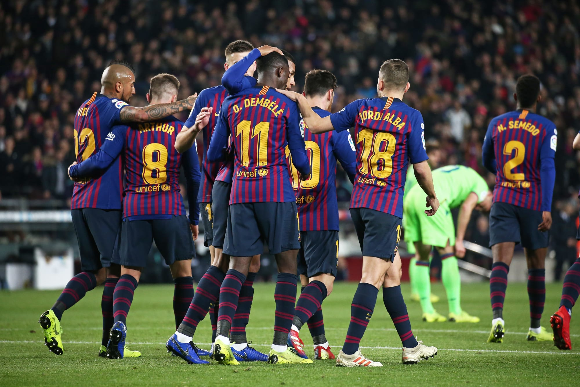 Barcelona vs Levante: Expected Starting XI for potential