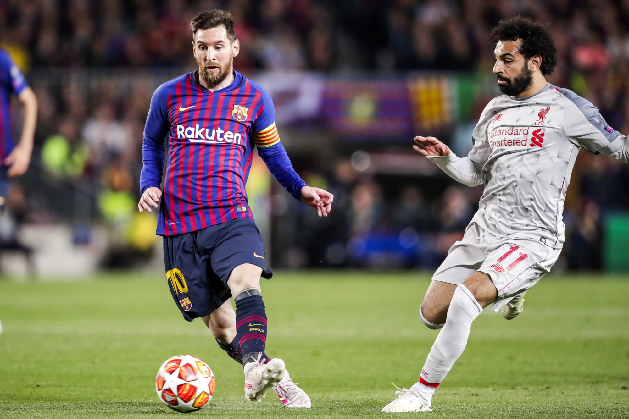 How Lionel Messi inspired Liverpool's Mohamed Salah