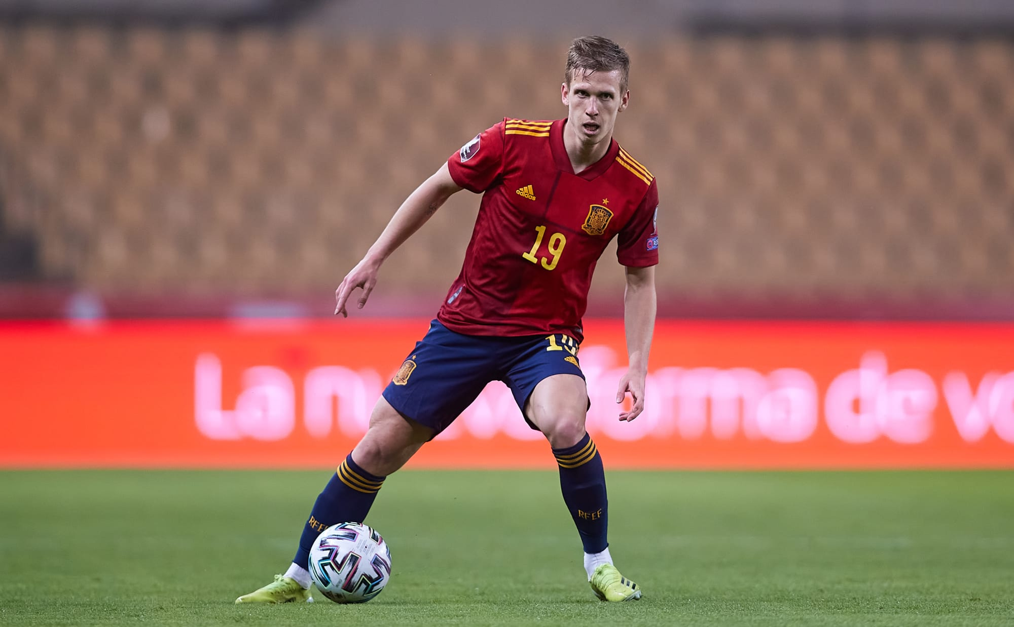 Barcelona still keeping tabs on Dani Olmo