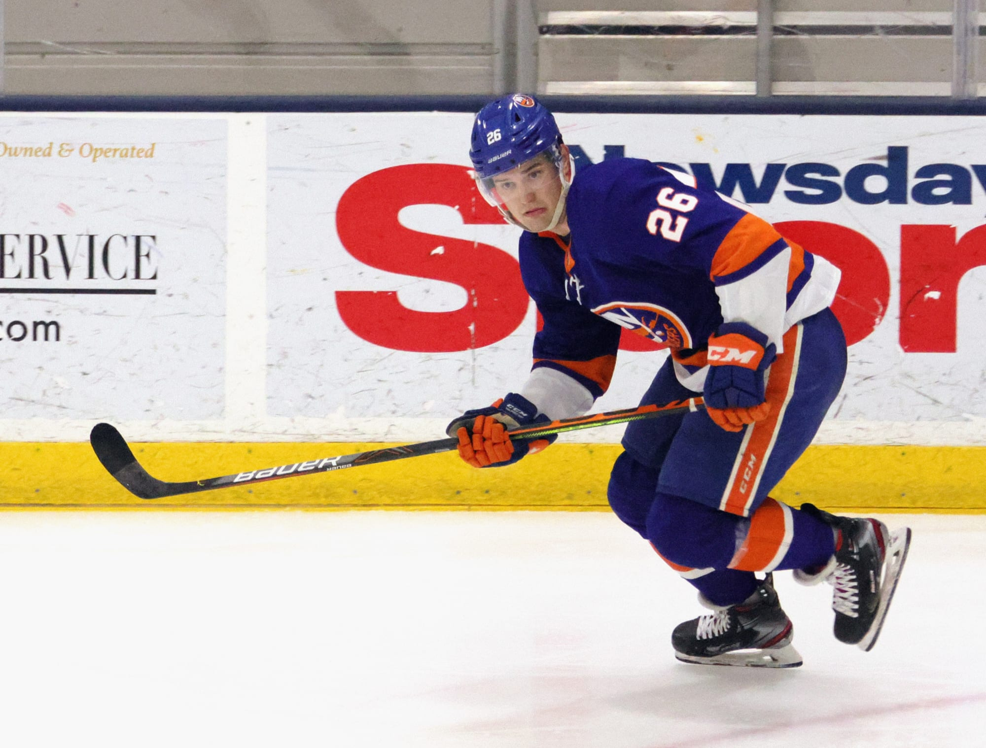 Islanders: Oliver Wahlstrom getting reps on third line at practice