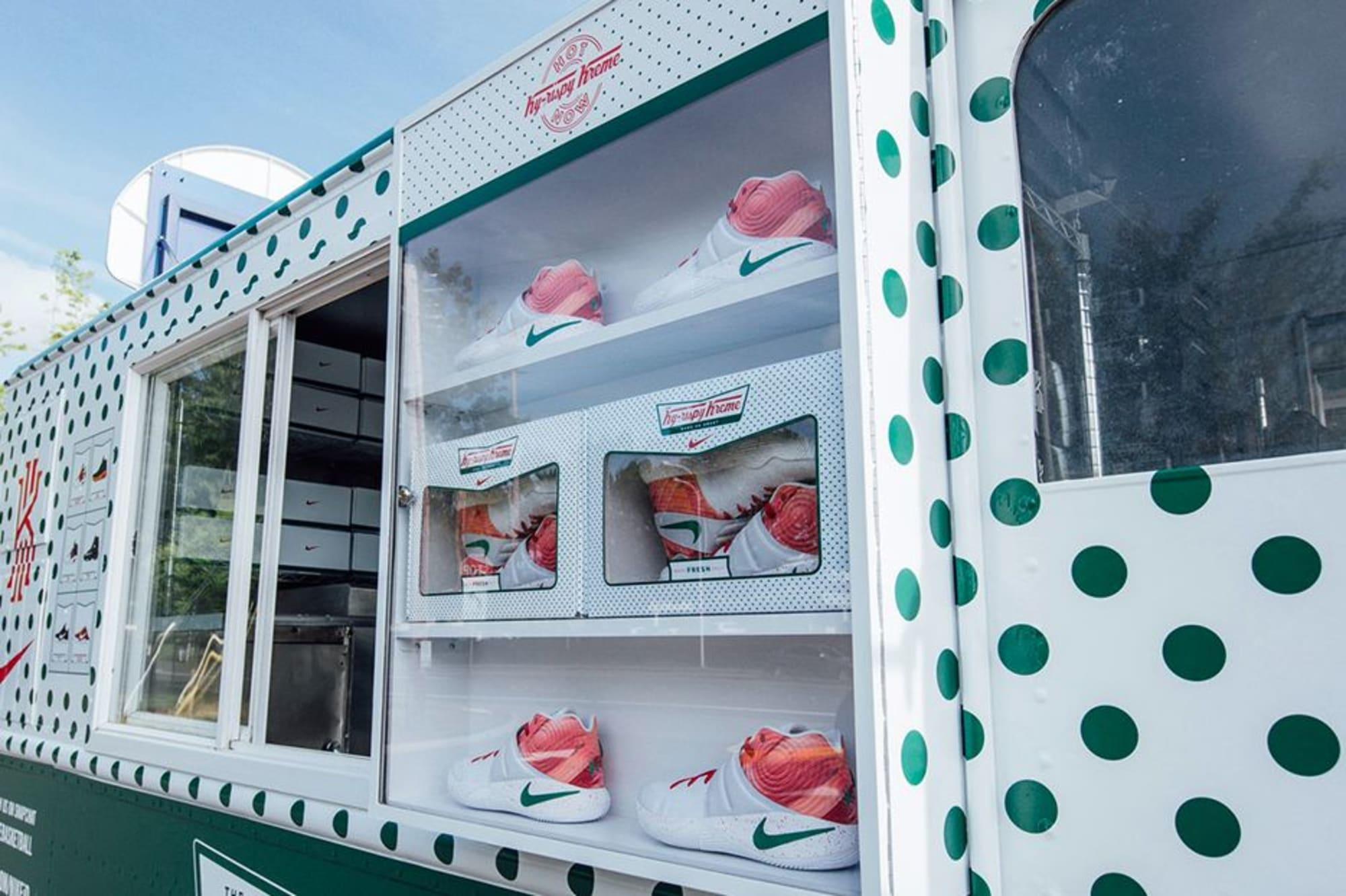 Kyrie Irving, Krispy Kreme \u0026 Nike Pull