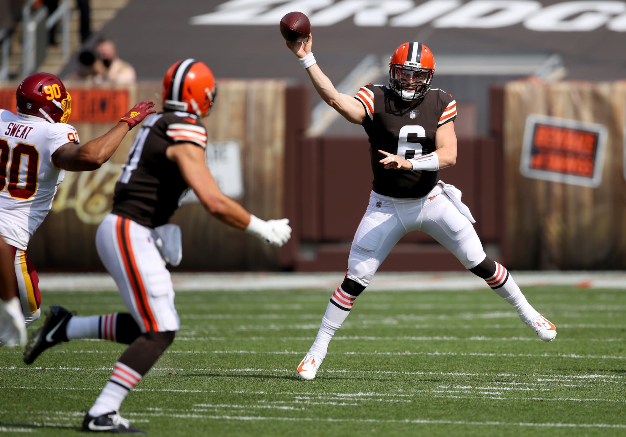 Cleveland Browns: Baker Mayfield plays nearly perfect game