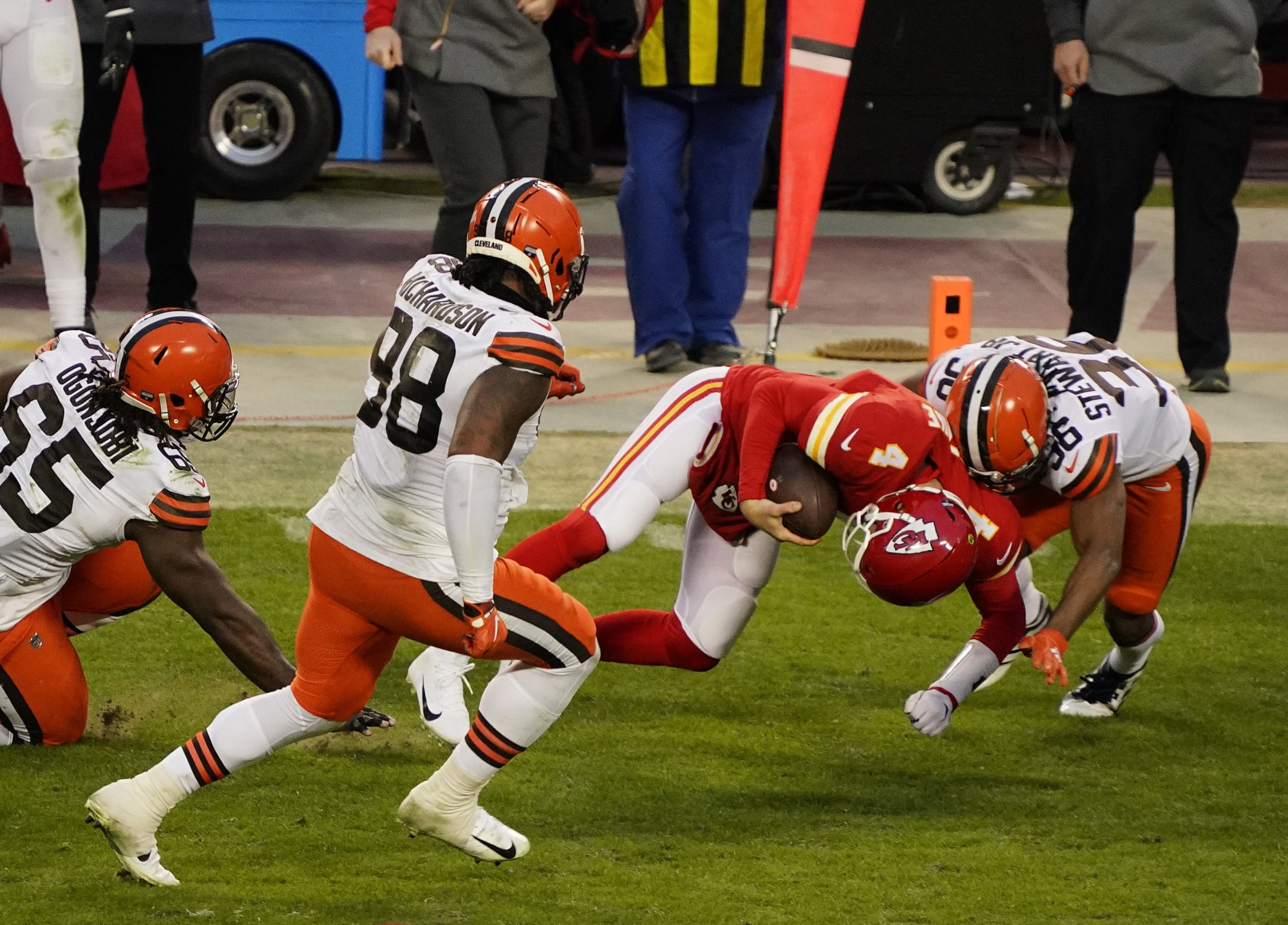 Bad coaching costs Cleveland Browns win over Kansas City Chiefs