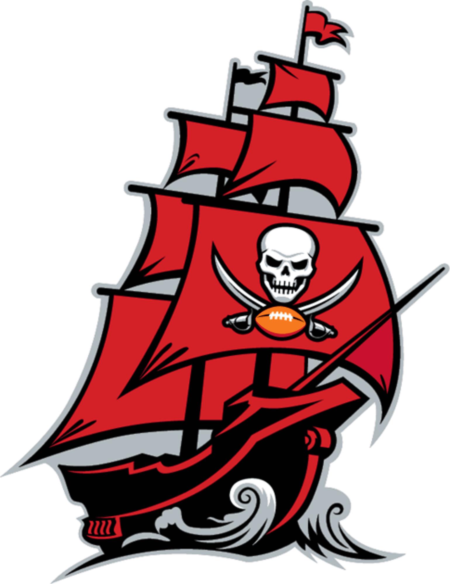 Tampa Bay Buccaneers Debut Alternate Pirate Ship Logo Photo