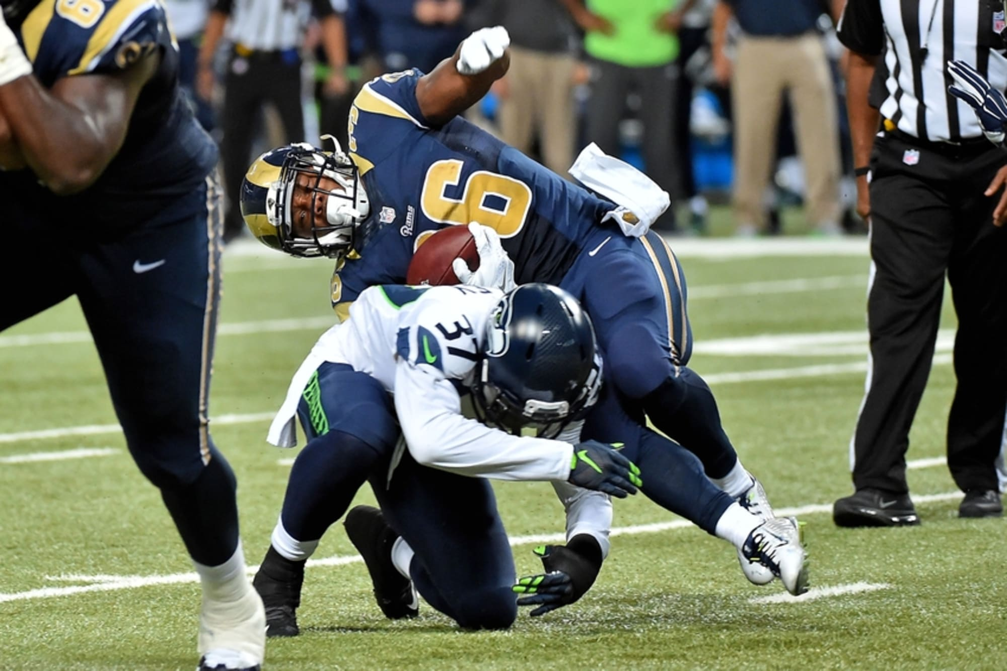 Seattle Seahawks Vs St Louis Rams Full Highlights Final Score And More