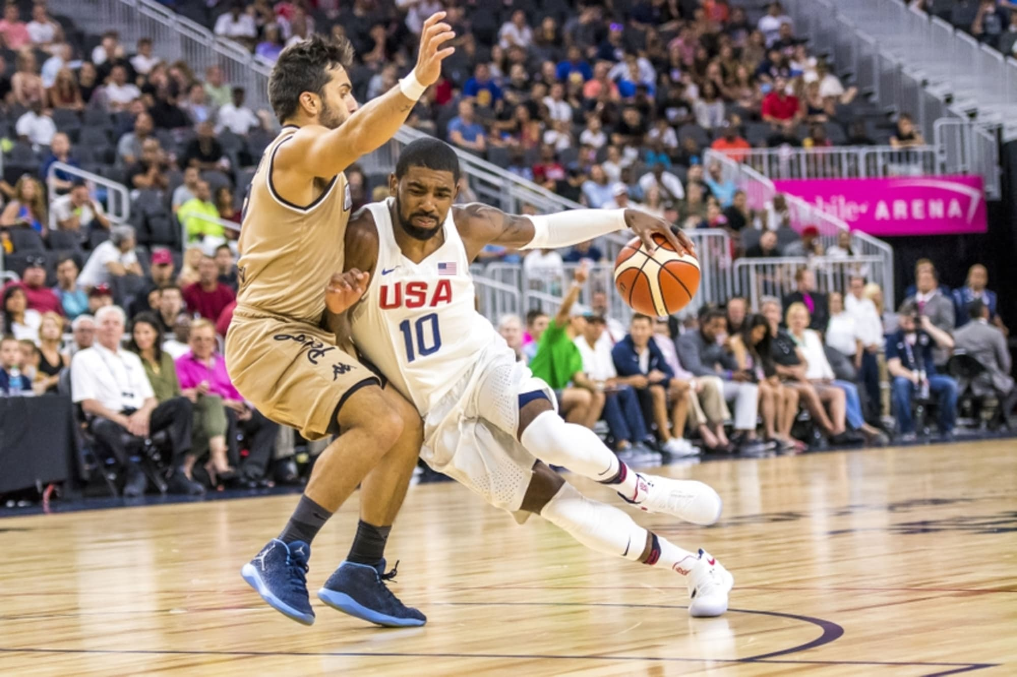 Kyrie Irving's sick crossover for USA vs. China (video)