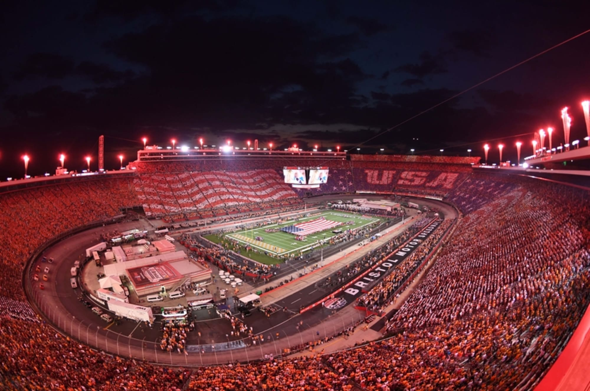Virginia Tech Vs Tennessee How Many People Attended Game At Bristol