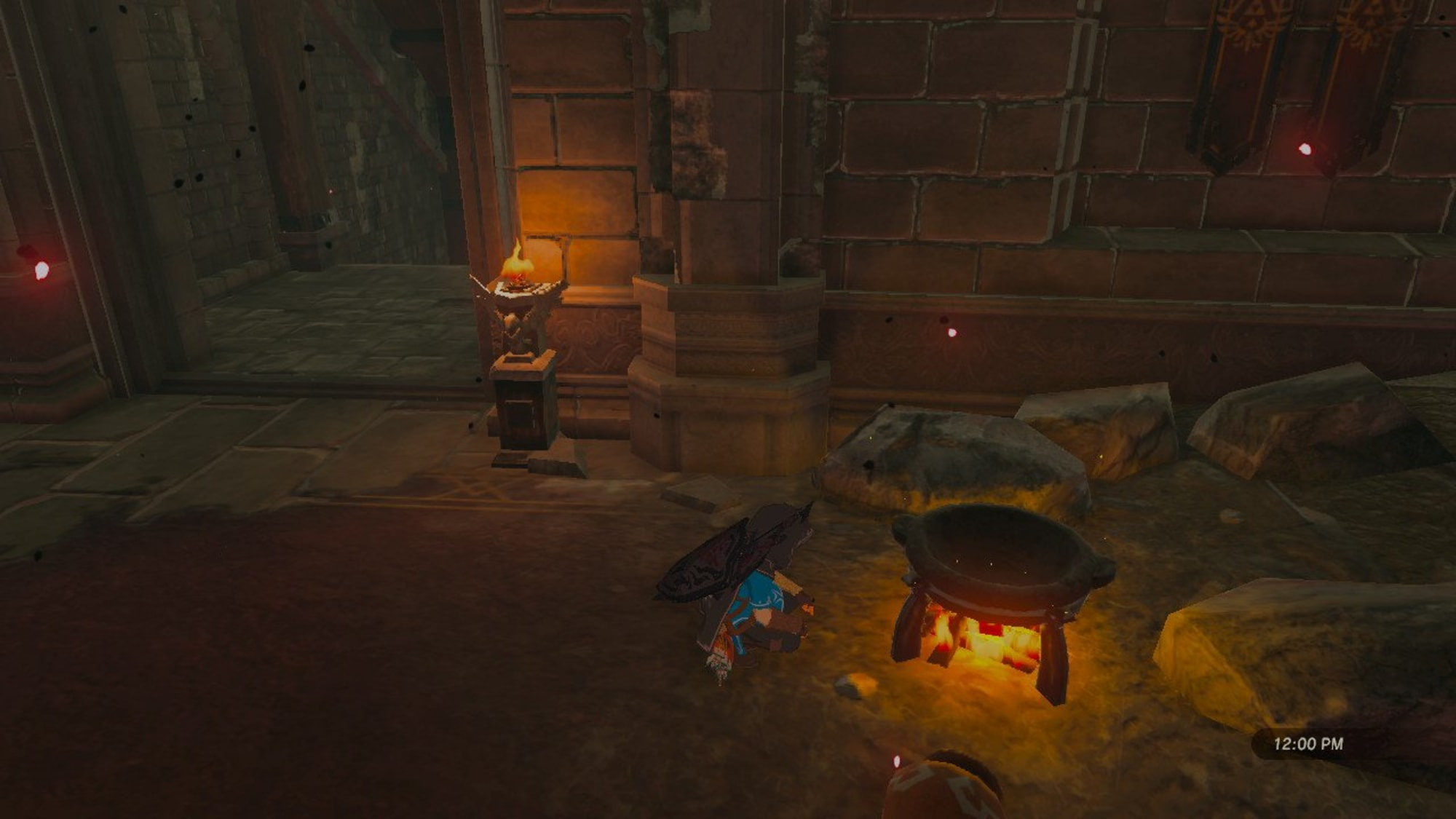 The Legend Of Zelda Breath Of The Wild Getting Through Hyrule Castle