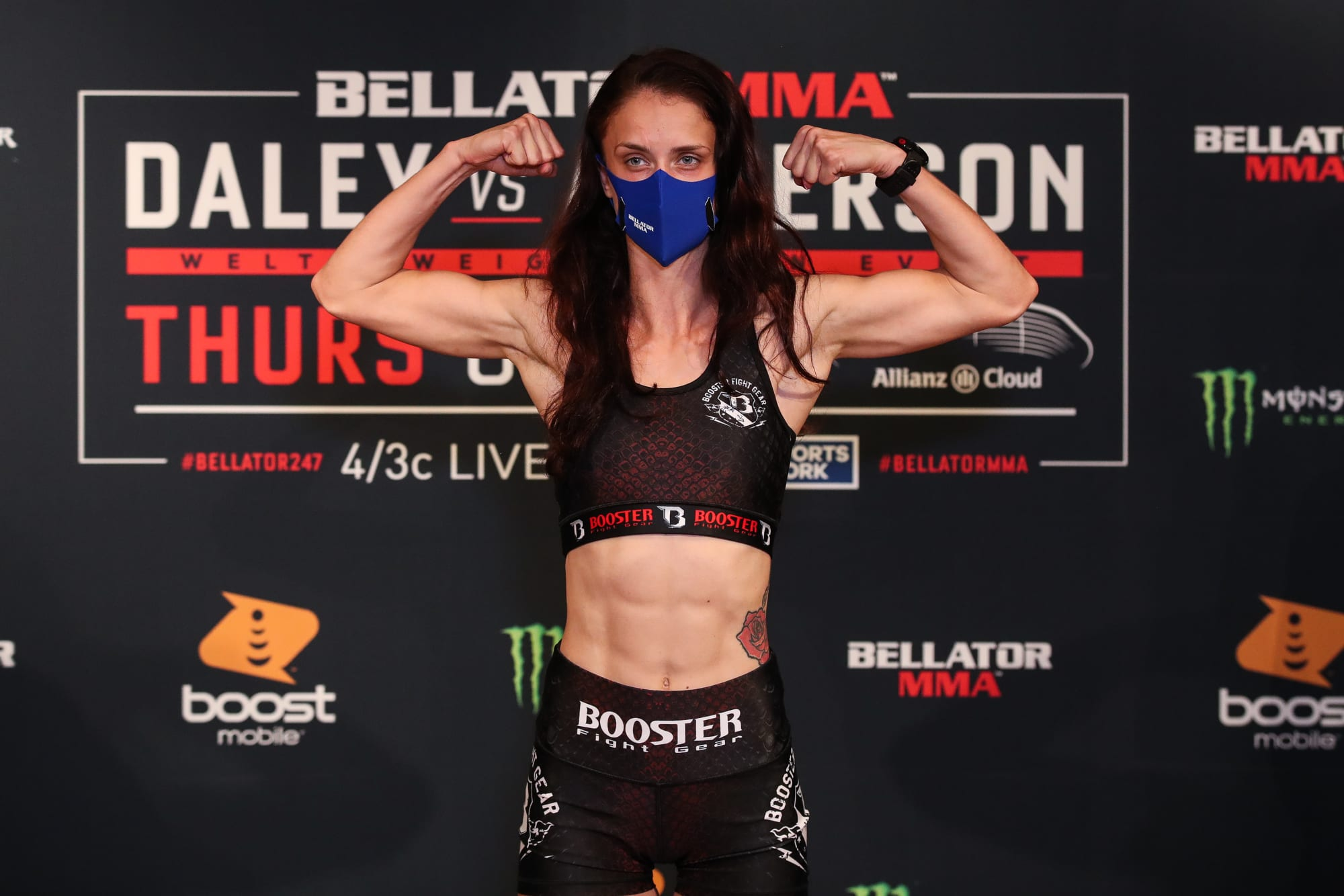 Watch the uber-rare scorpion crunch submission Monika Tochlikova just landed at Bellator 247 (Video)