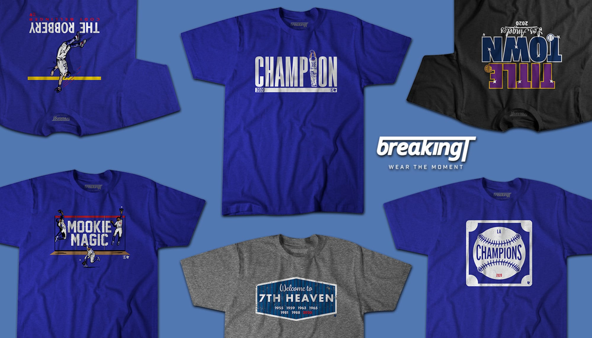 The Los Angeles Dodgers are World Series Champs. Time to gear up.