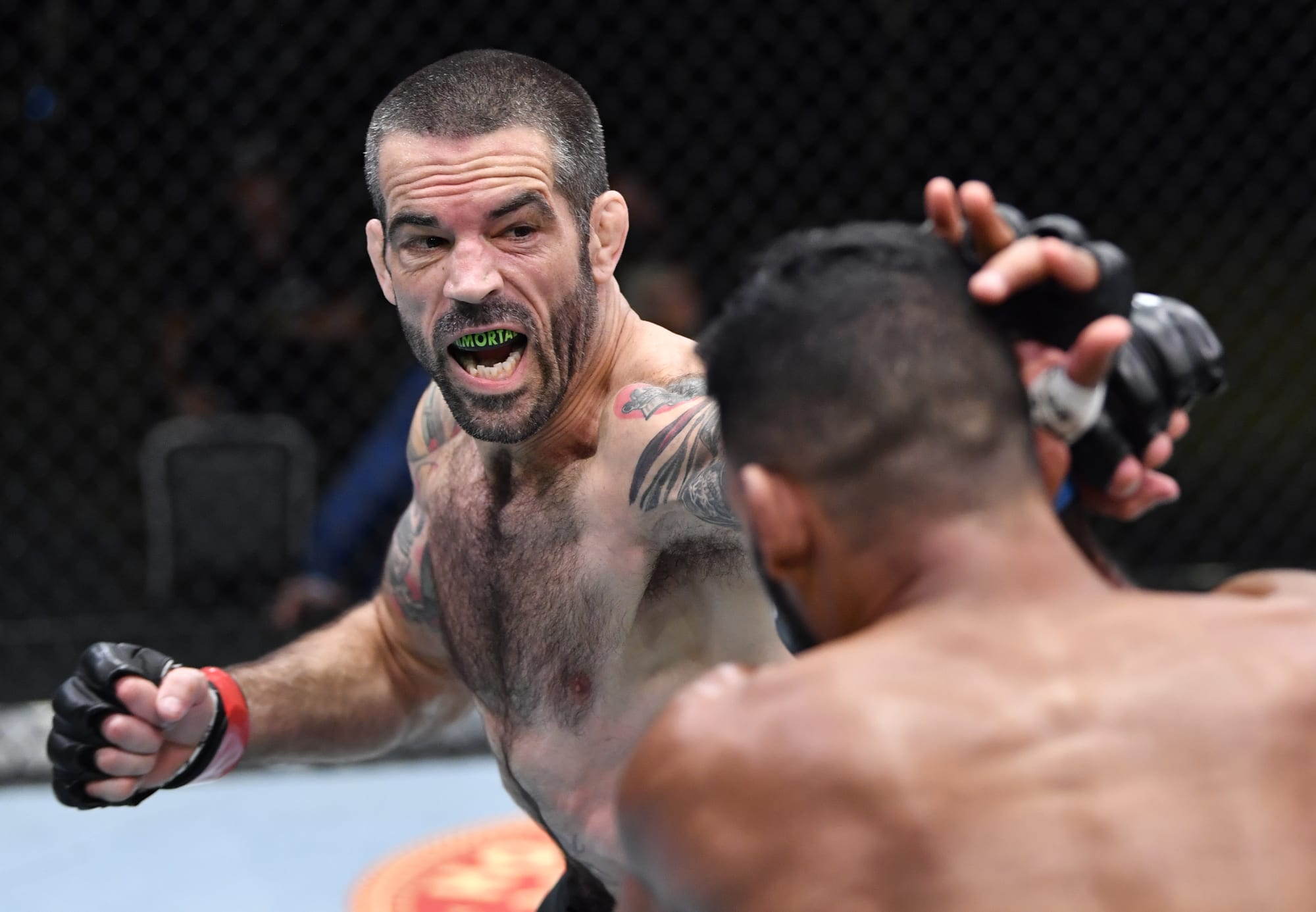 UFC Vegas 29: Matt Brown shocks with walk off KO of Dhiego Lima (Video)