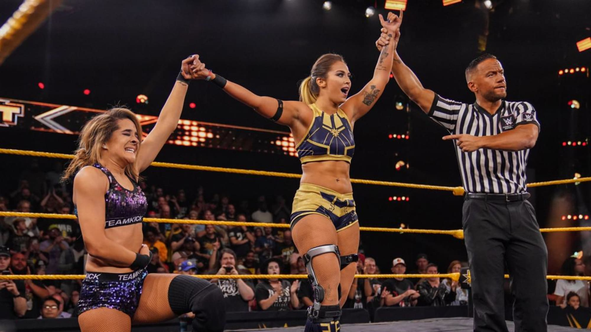 WWE NXT: Io Shirai defeats Tegan Nox in main event
