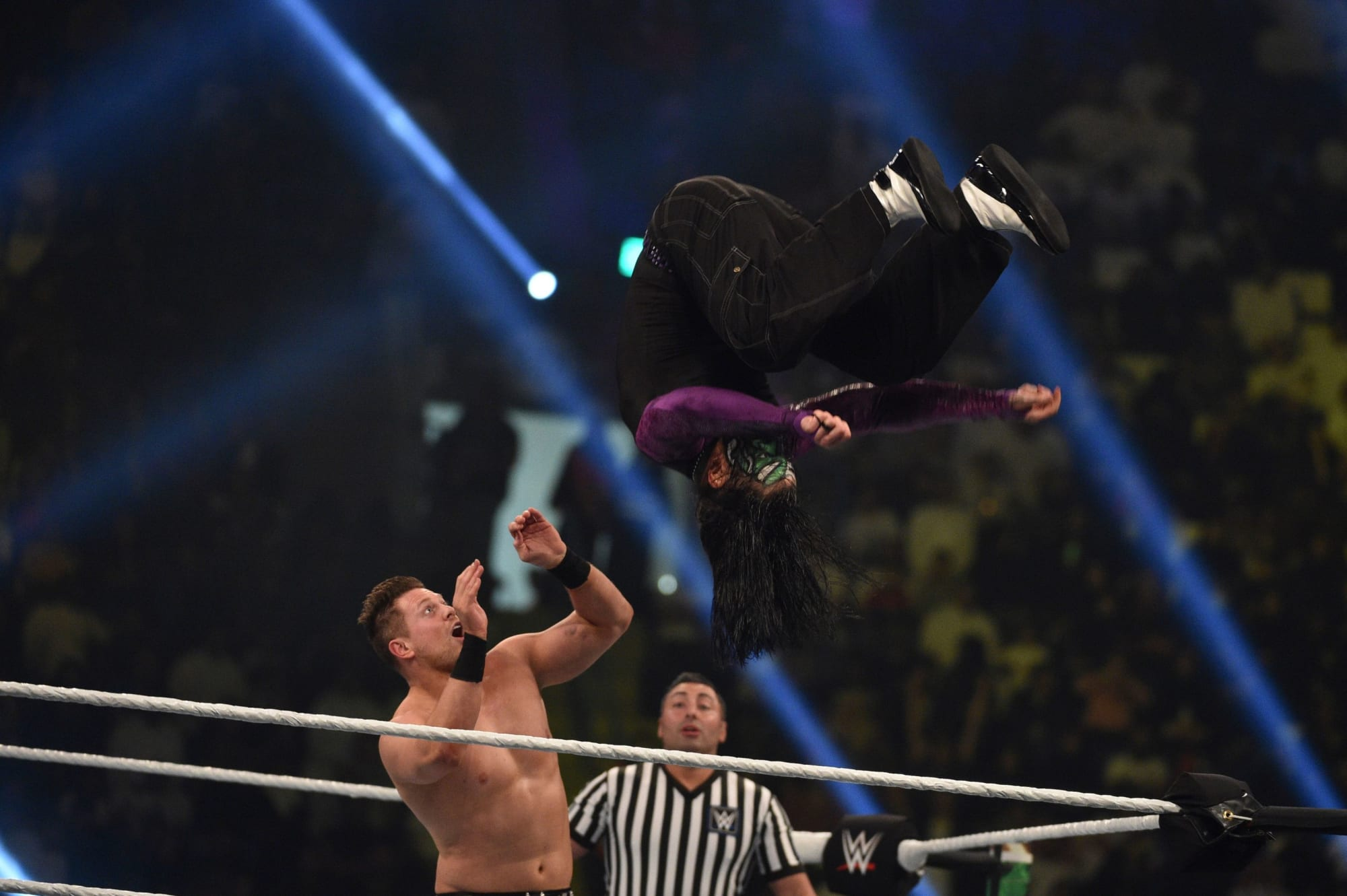 The Miz plans to wire Bad Bunny's mouth shut at Wrestlemania 37