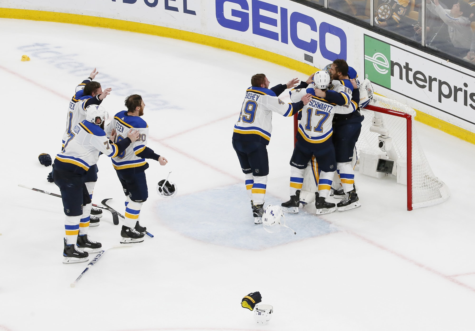 Twitter reacts to Blues unlikely Stanley Cup victory