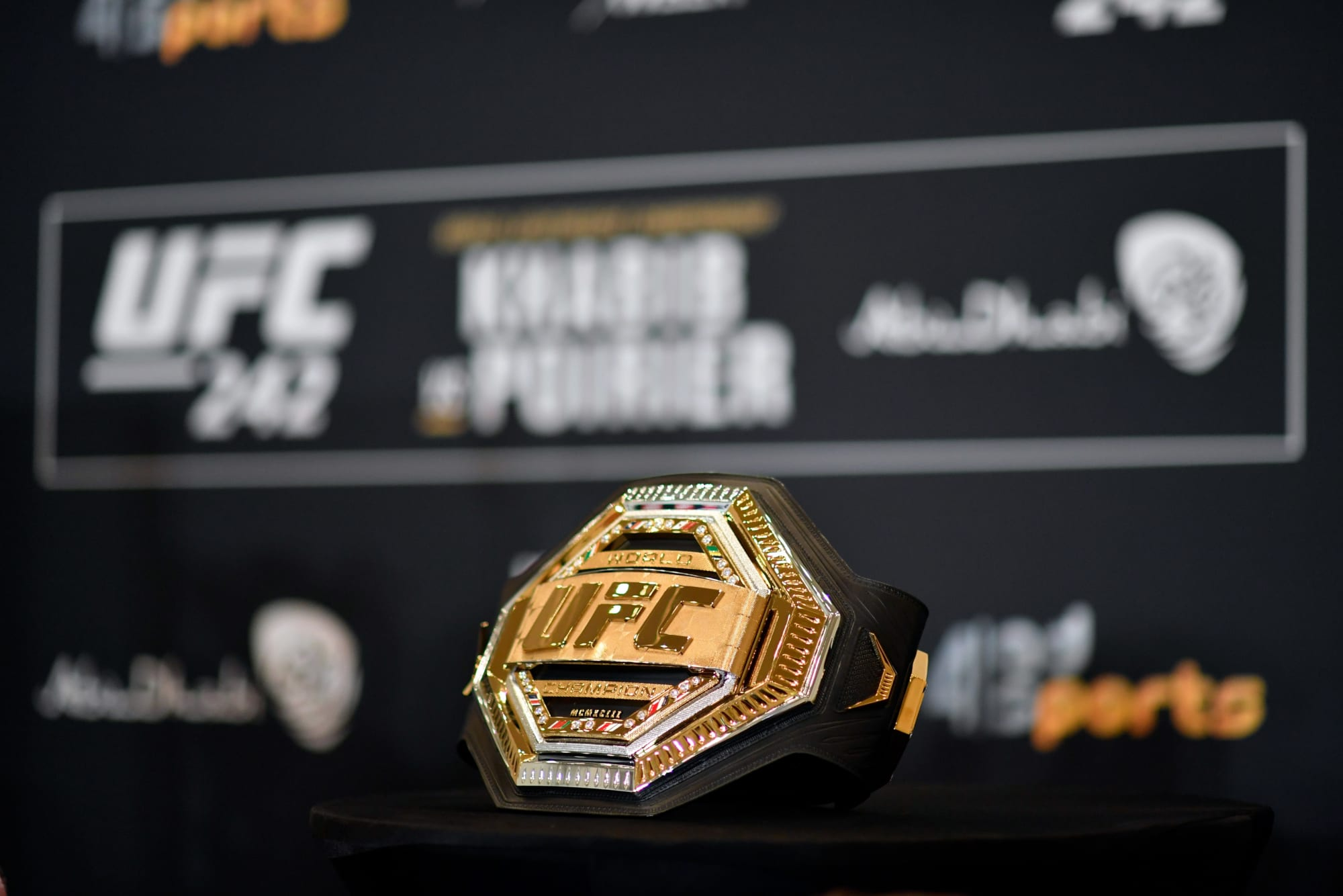 A detailed timeline of every UFC champion since the start of the new millennium