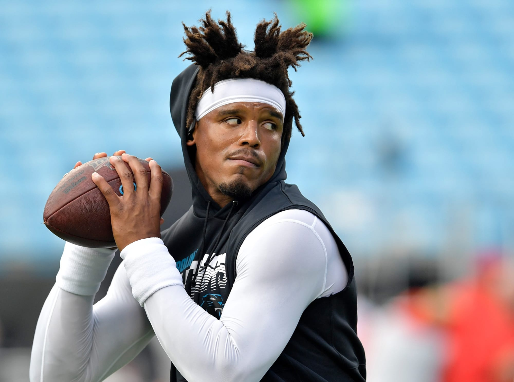 Cam Newton already putting in work with new Patriots teammate (Watch)