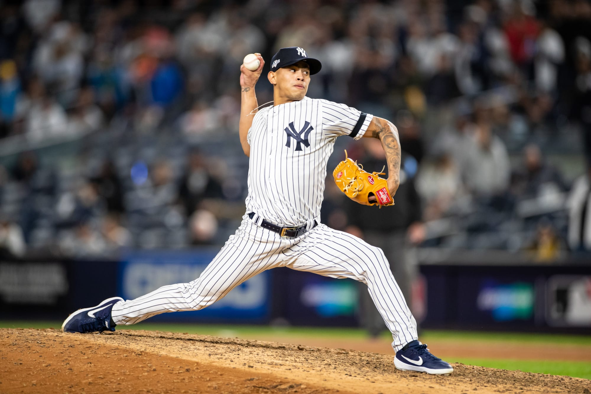 Jonathan Loaisiga will have an important role early in the Yankees' season