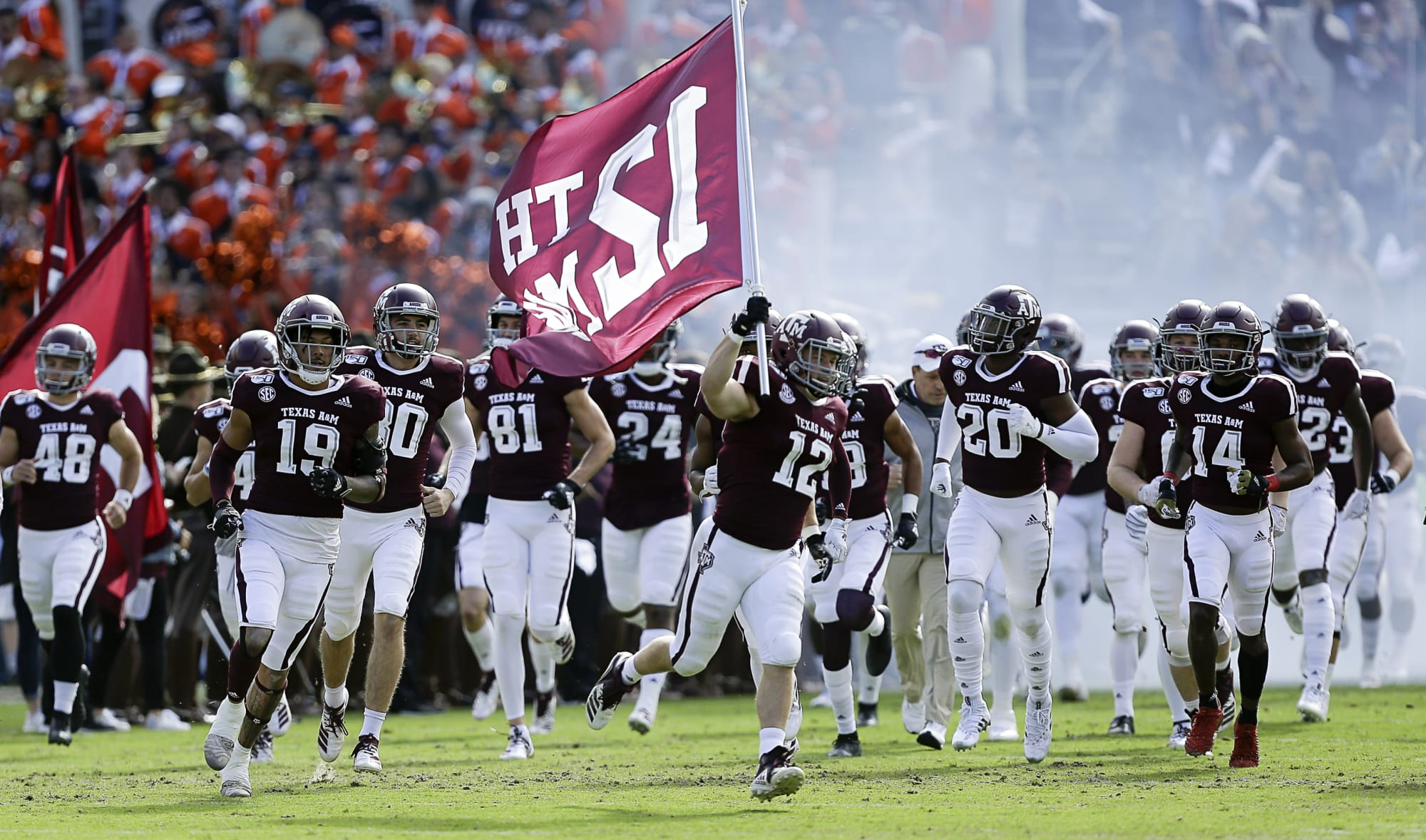 Texas A M Football Schedule 2020 Predicting Every Aggies Game