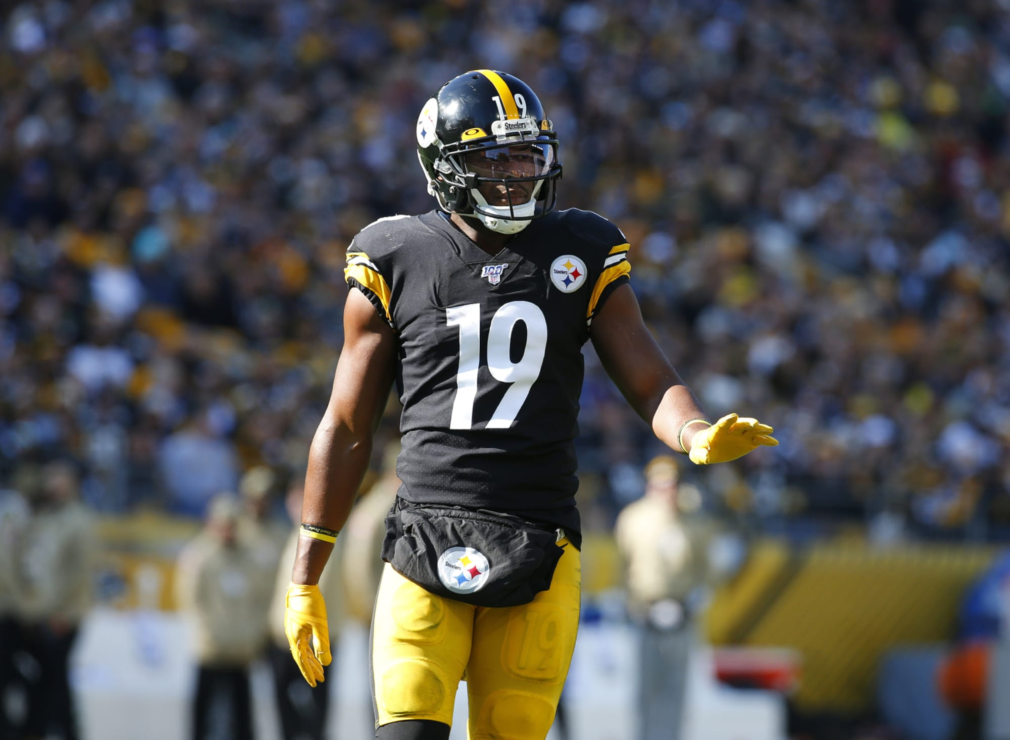 JuJu Smith-Schuster says Packers were in mix to sign him this offseason
