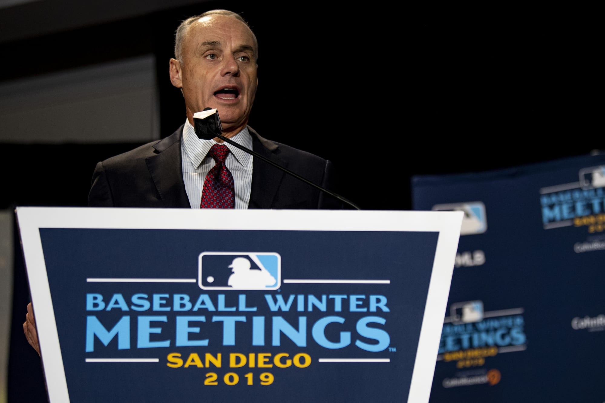 If there's no 2020 MLB season, blame Rob Manfred