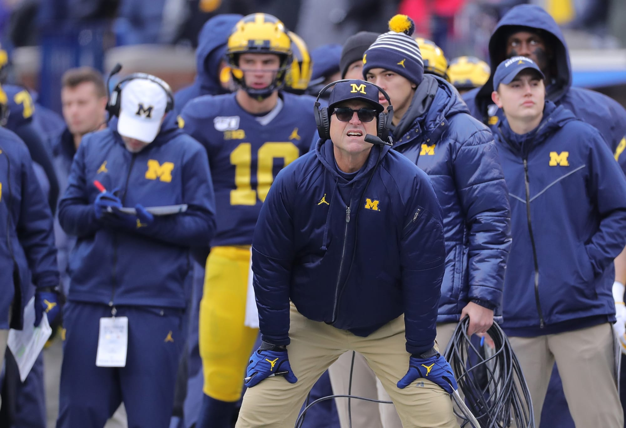 Michigan football: Wolverines have an early leader at quarterback in spring practice