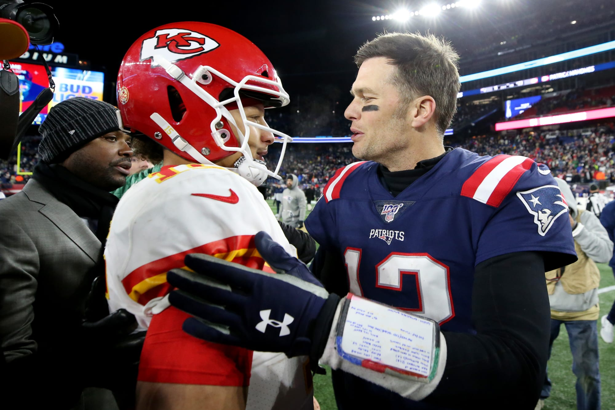 Patrick Mahomes owns the NFL; Tom Brady just isn't ready to leave