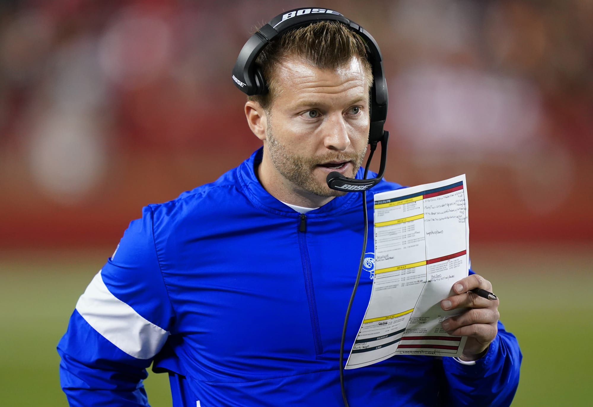 ESPN tried to pry Sean McVay from Rams for Monday Night Football gig