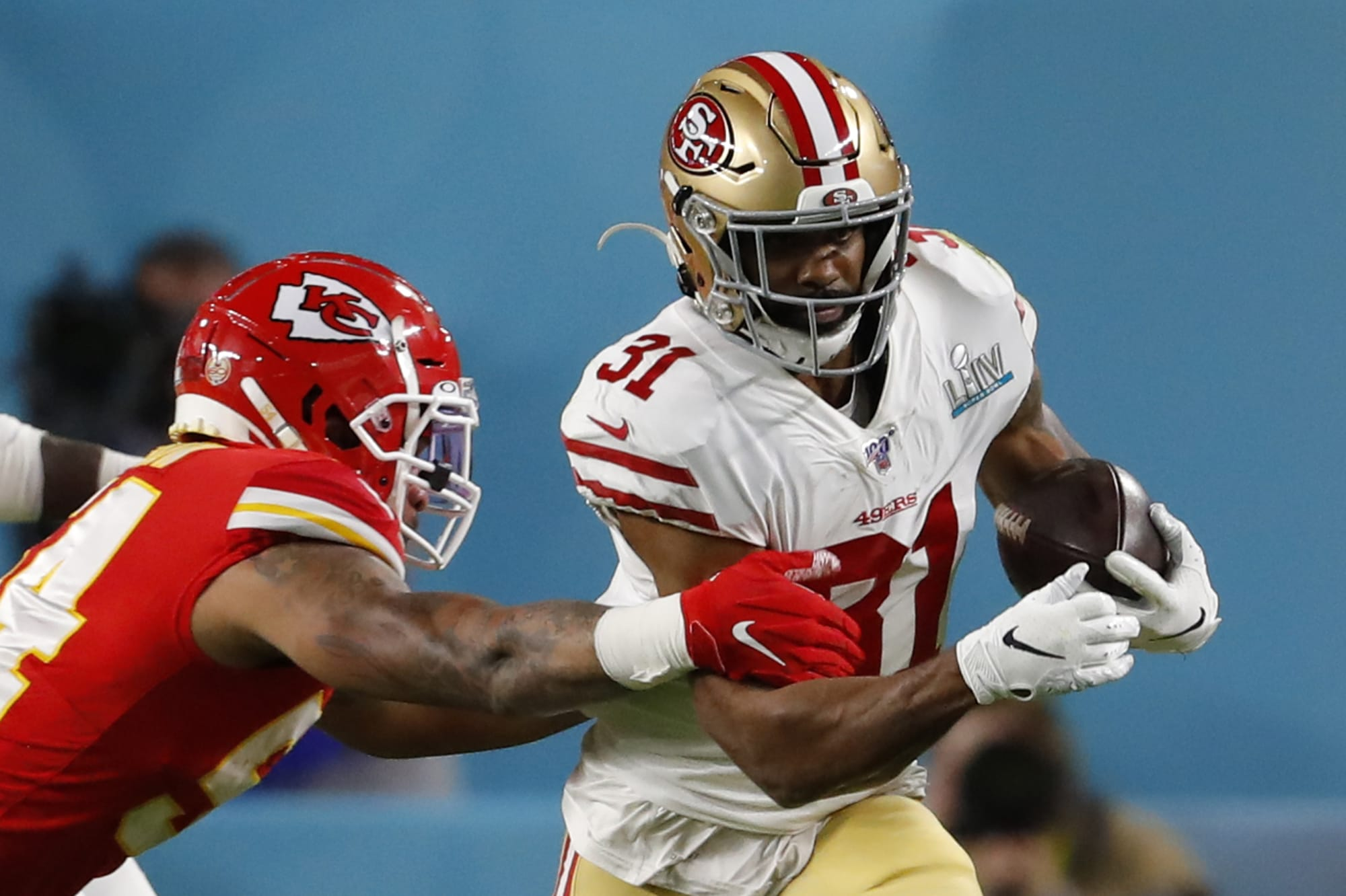 Is Raheem Mostert worth the fantasy premium in a crowded 49ers backfield?