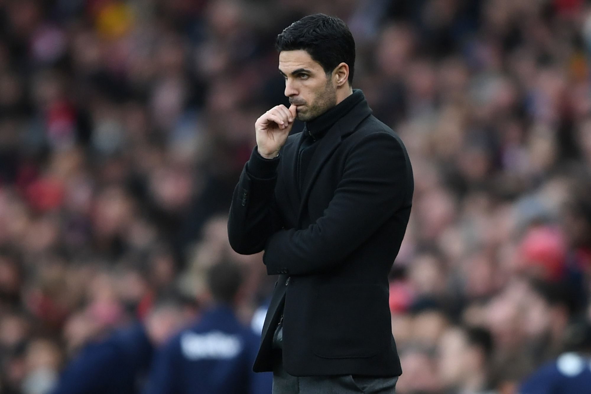 Trouble may be brewing between Arsenal and Mikel Arteta