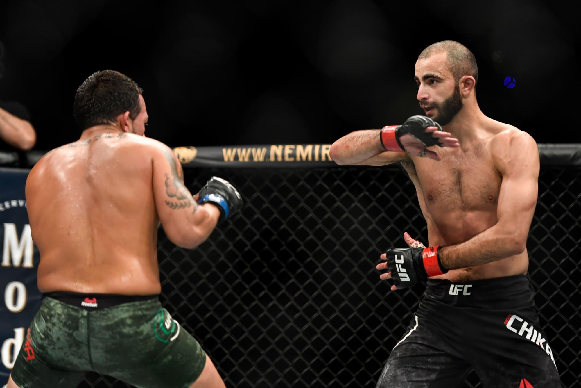 UFC Vegas 35: Edson Barboza vs.  Apuestas Giga Chikadze