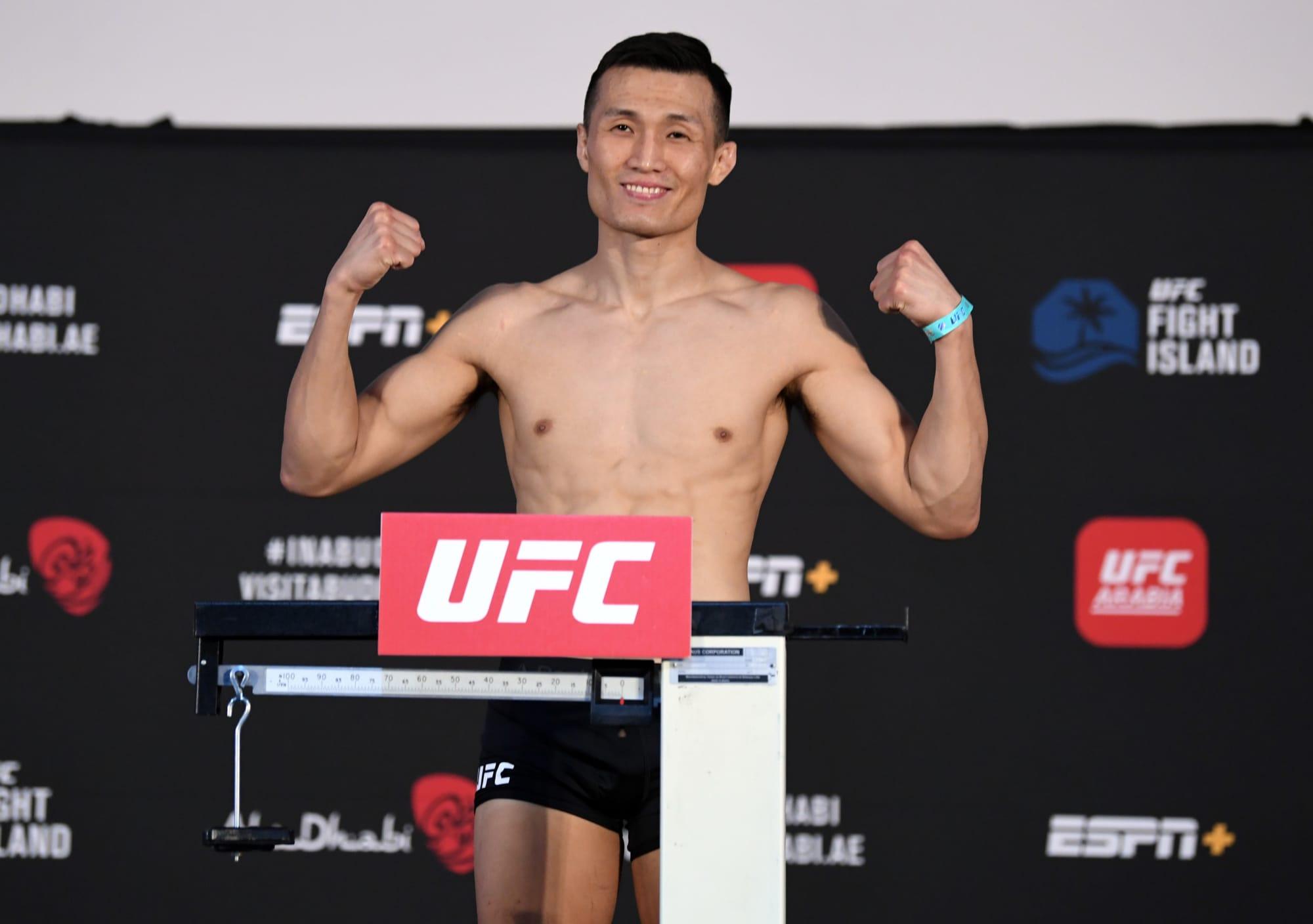 UFC Vegas 29: Korean Zombie vs. Dan Ige weigh-in results